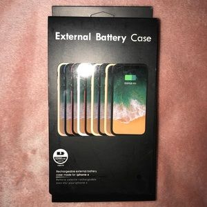 External Battery Case for IPhone x